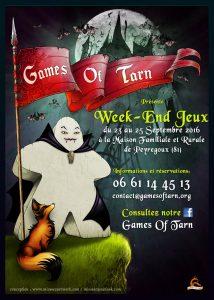 Games Of Tarn - Week End Jeu @ MFR de Peyregoux