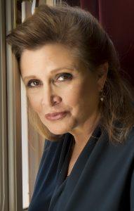 Carrie Fisher en 2013 - Photo de Riccardo Ghilardi