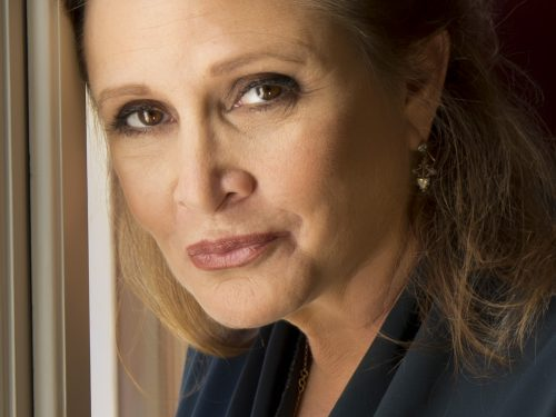 Carrie Fisher en 2013 - Photo de Riccardo Ghilardi